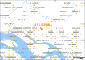map of Teligrām