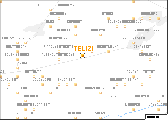 map of Telizi