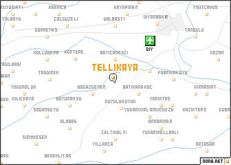map of Tellikaya