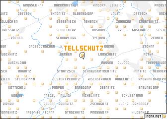 map of Tellschütz
