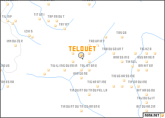map of Telouet