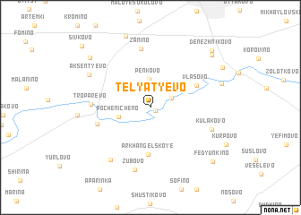 map of Telyat\