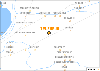 map of Telzhevo