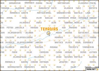 map of Temadias