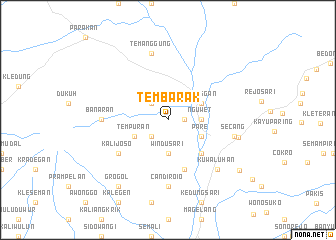 map of Tembarak