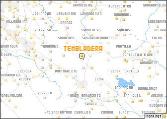 map of Tembladera