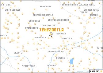 map of Temezontla