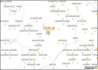 map of Temla