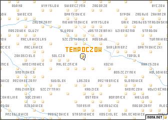 map of Tempoczów