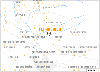 Tenancingo Mexico Map Nona Net