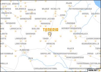 map of Tenería