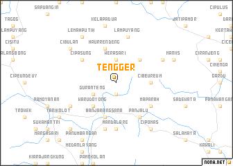 map of Tengger