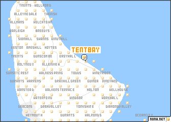 map of Tent Bay