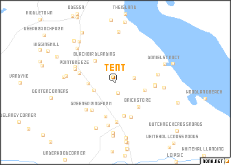map of Tent