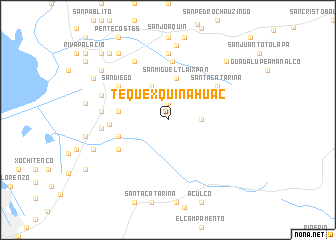 map of Tequexquinahuac