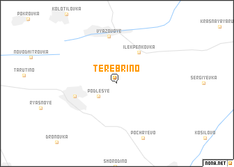 map of Terebrino