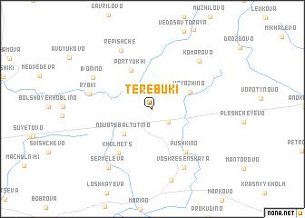 map of Terebuki