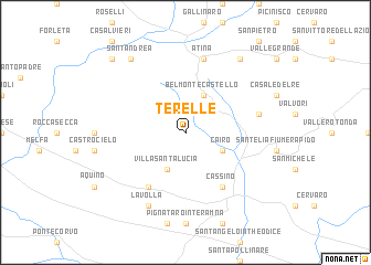 map of Terelle