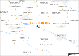 map of Tereshchenky