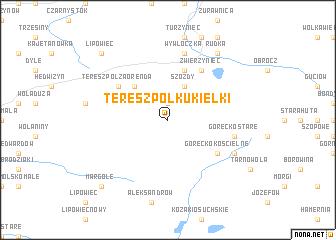 map of Tereszpol Kukiełki