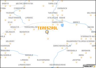 map of Tereszpol
