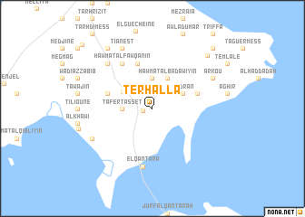 map of Terhalla