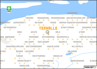 map of Terhalle