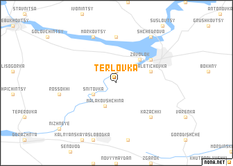 map of Terlovka