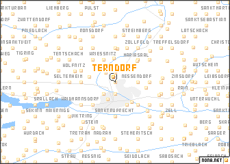 map of Terndorf