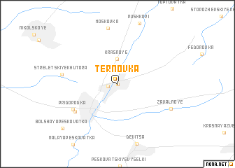 map of Ternovka