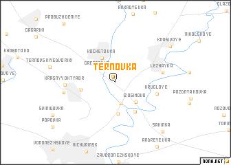 map of Ternovka