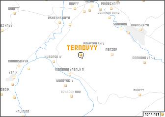 map of Ternovyy