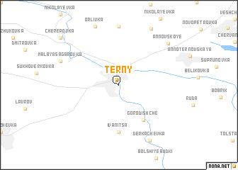 map of Tërny