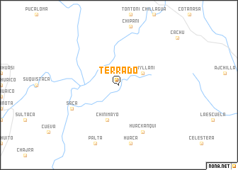map of Terrado