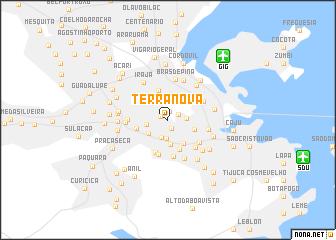 map of Terra Nova