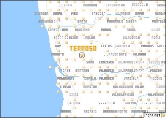 map of Terroso
