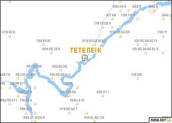 map of Teteneik