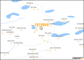 map of Tetrovo