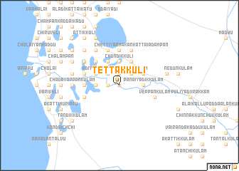 map of Tettakkuli
