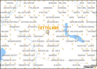 map of Tettelham