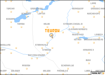 map of Teurow