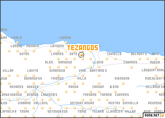 map of Tezangos