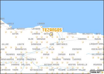 map of Tezangos