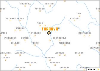 map of Thabaya