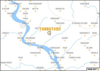 map of Thabutkon