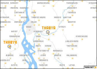 map of Thabya