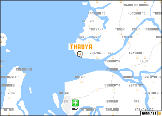 map of Thabya