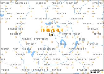 map of Thabyehla