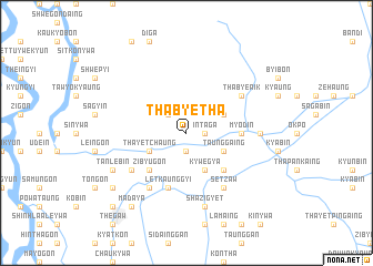 map of Thabyetha