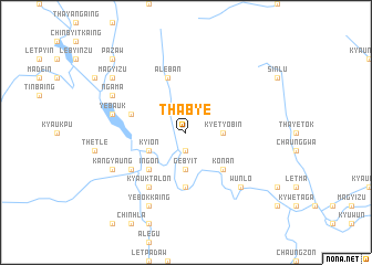 map of Thabye